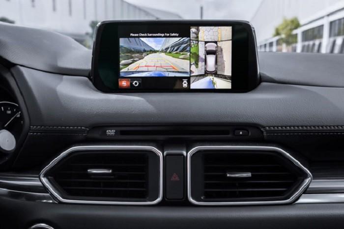Camera 360 độ được trang bị trên phiên bản cao cấp nhất AWD