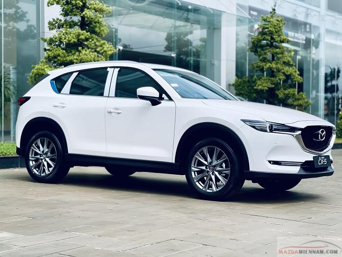 Mazda CX5 2021 màu trắng