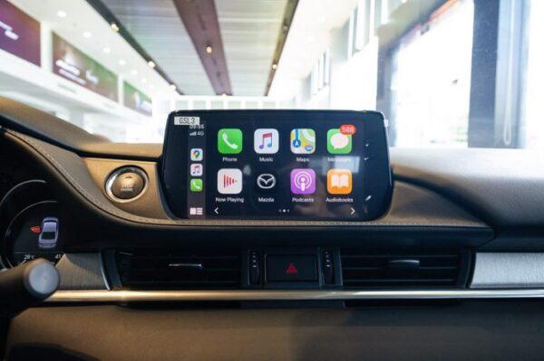 Màn hình Mazda 6 thế hệ mới 8 inch tích hợp Apple Carplay và Android Auto