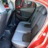 Hàng ghế sau Mazda 2 mới rộng rãi thoải mái cho 3 người ngồi