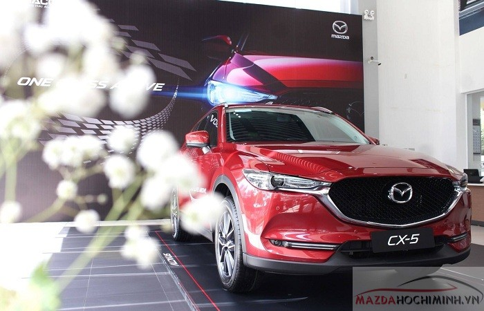 Mazda cx-5 2018 màu đỏ