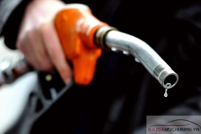mức tiêu hao nhiên liệu mazda bt-50