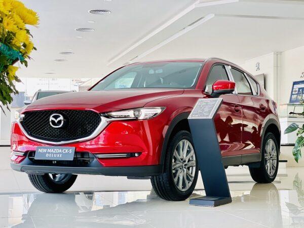 Nội thất Mazda CX5 2021