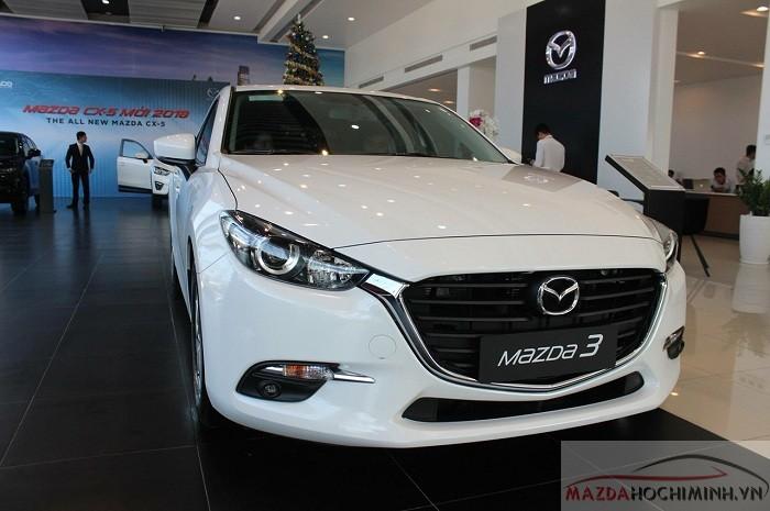 Mazda 3 2018 màu trắng
