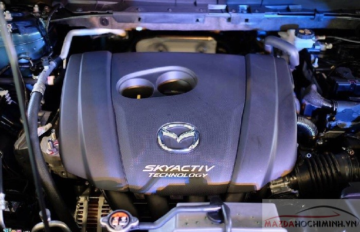Động cơ Skyactiv giúp Mazda tiết kiệm 15% nhiên liệu và cho công suất vượt trôị