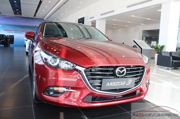 Ngoại thất Mazda 3 2018