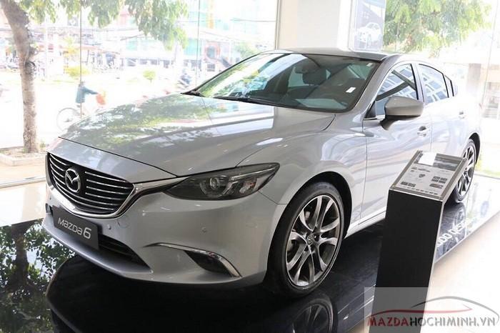 Giá lăn bánh Mazda 6 thấp hơn so với tại Hà Nội