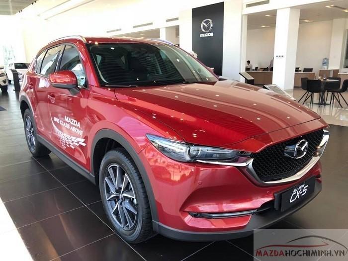 Mazda CX-5 2018 kiểu dáng sang trọng lịch lãm
