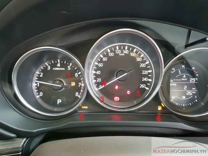Các hiển thị trên Mazda Cx5 cần phải biết