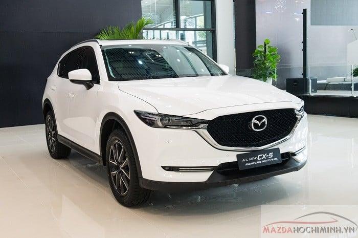Màu Mazda Cx5 trắng mới