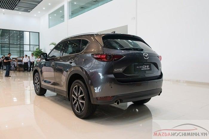 Mazda CX5 2018 xám mới