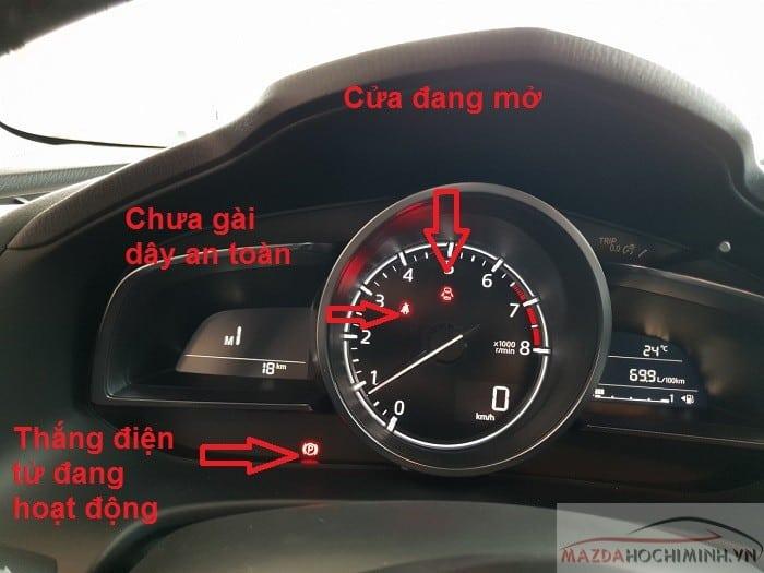 Các cảnh báo thường gặp trên Mazda 3