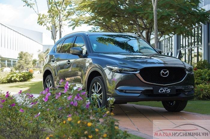 Màu xe Mazda Cx5 xám mới