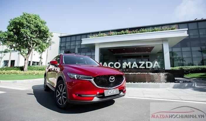 Mazda Cx5 đỏ pha lê mới