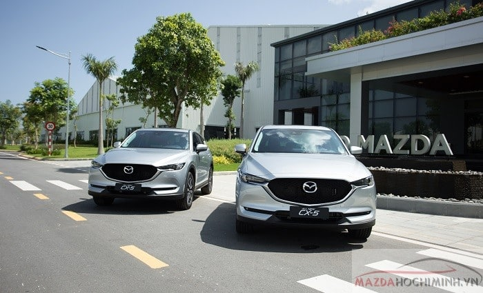 Mazda Cx5 màu trắng sữa mới