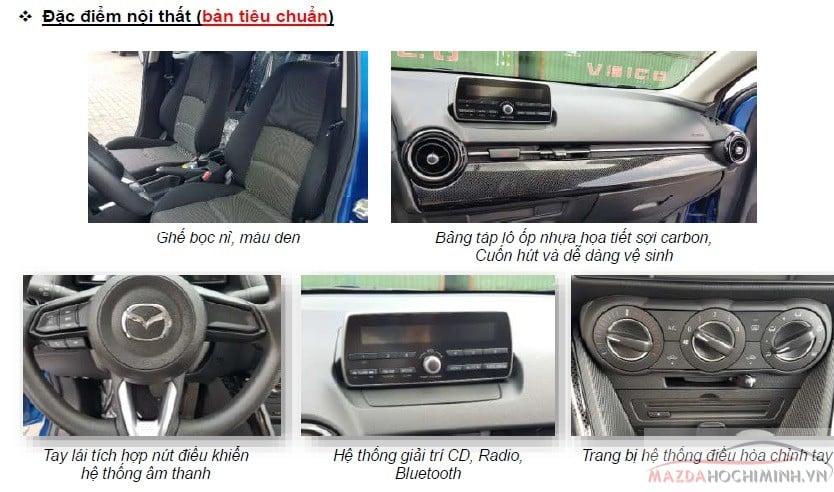 Các tính năng nỗi bậc trên phiên bản sedan tiêu chuẩn