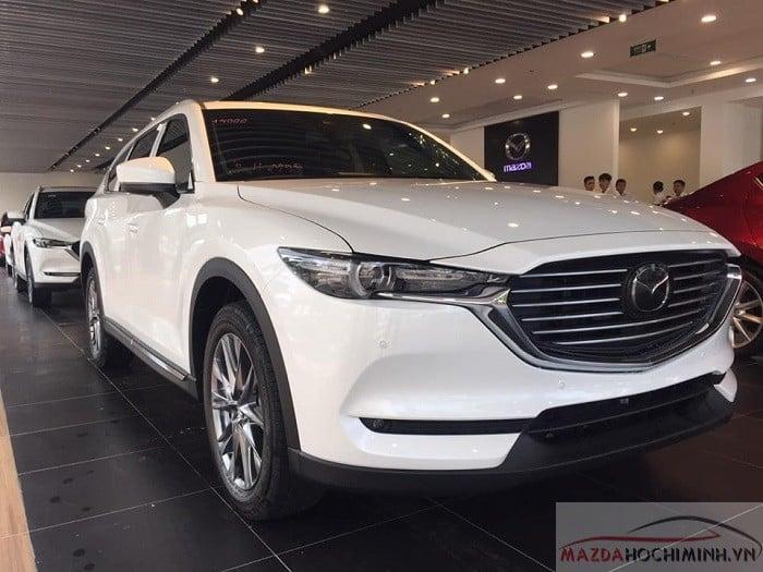 Mazda CX-8 2019 màu trắng