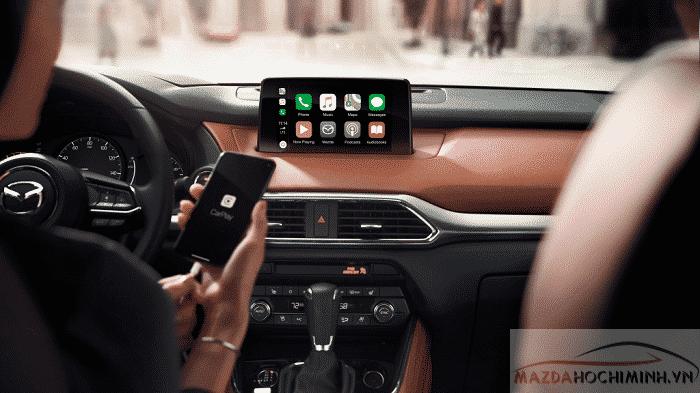 Apple car Play và andrioid được tích hợp