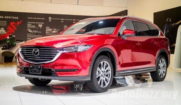 Giá xe Mazda CX8 chỉ từ 979 triệu đồng, chỉ cần trả trước 300 triệu đồng.