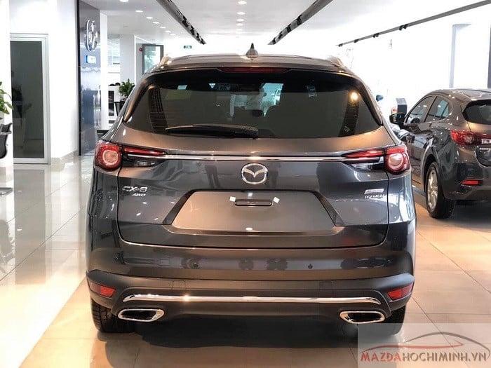 Mazda CX-8 2019 màu xám
