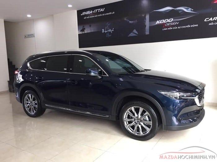 Mazda CX-8 2019 màu xanh đen