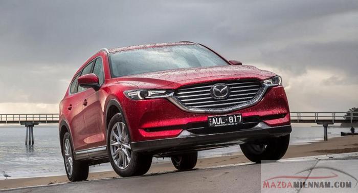Nhờ công nghệ skyactiv giúp Mazda CX-8 luôn dẫn đầu xe tiết kiệm nhiên liệu