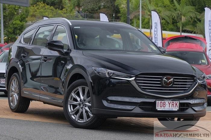 Mazda Cx8 2019 màu đen