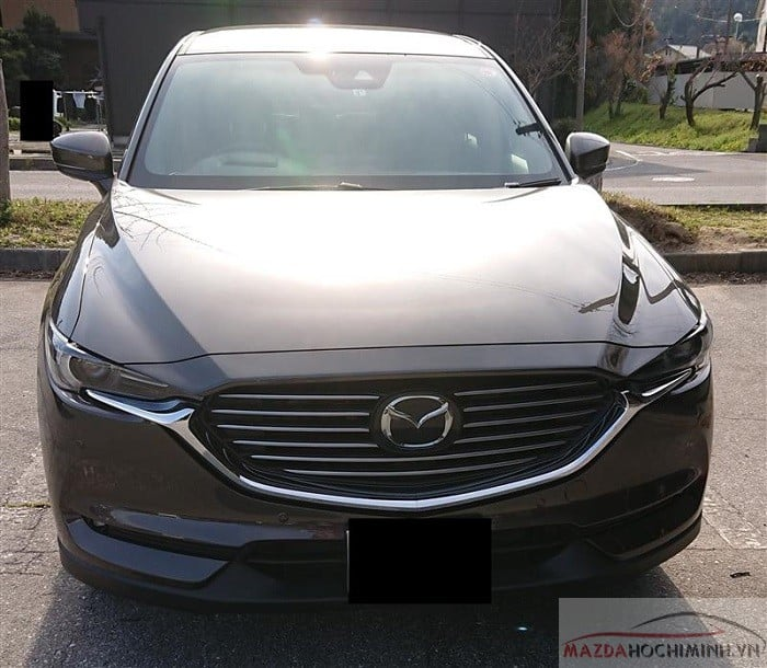 Mazda Cx8 2019 màu màu nâu