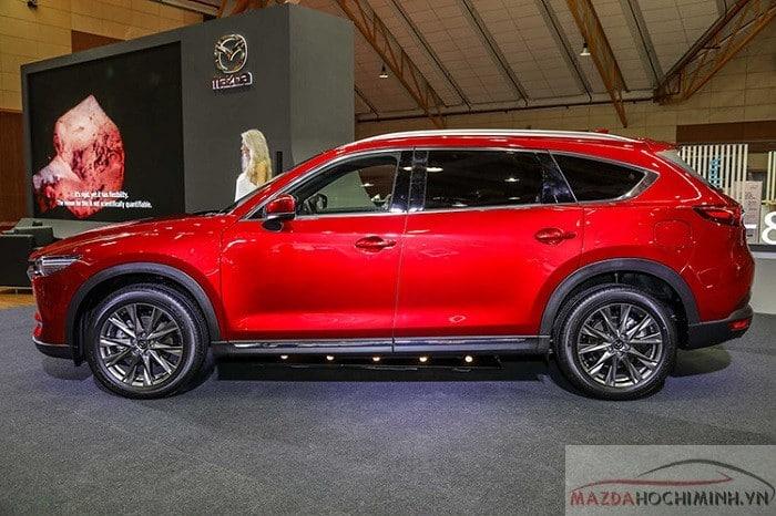 Mazda Cx8 2019 có chiều dài cơ sở 2930