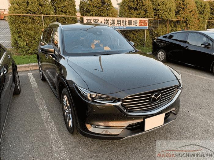 Mazda CX8 2019 màu xám