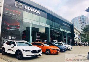 Mazda Lê Văn Lương tọa lạc ngay trung tâm Hà Nội