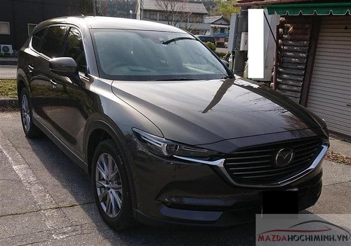 Mazda CX8 2019 màu nâu