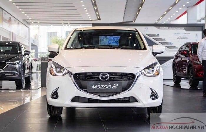 Mazda 2 phiên bản cao cấp trang bị nhiều tính năng