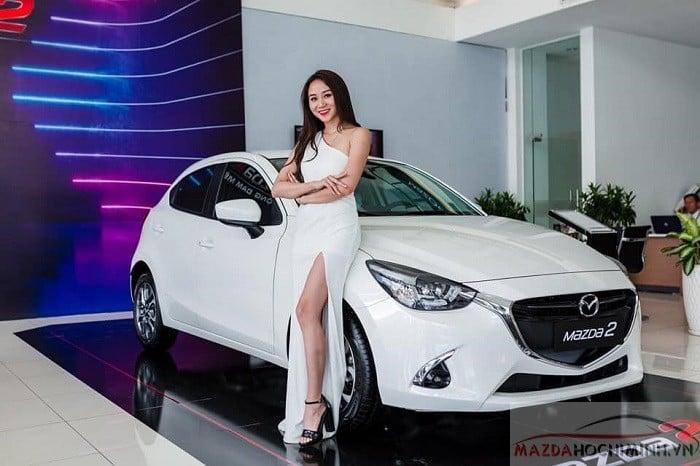 Mazda 2 trang bị đèn Led 6 túi khí và tích hợp rất nhiều công nghệ