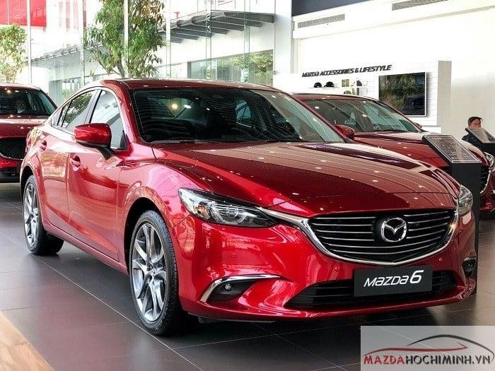 Mazda 6 ưu đãi lên đến 60 triệu đồng