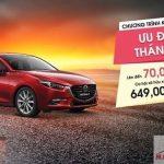Mazda 3, Mazda 6 và Cx-5 ưu đãi lên đến 100 triệu đồng