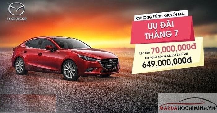 Mazda 3 ưu đãi lên đến 70 triệu đồng