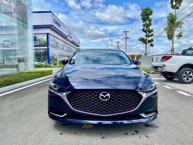 Mazda 3 2021 xanh đen Dark Blue
