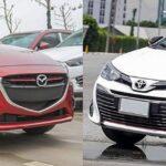 So Sánh Mazda 2 Và Toyota Vios: Hai Đối Thủ Xứng Tầm Trong Cùng Phân Khúc