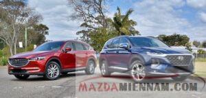 So sánh Mazda Cx8 và Hyundai Santafe