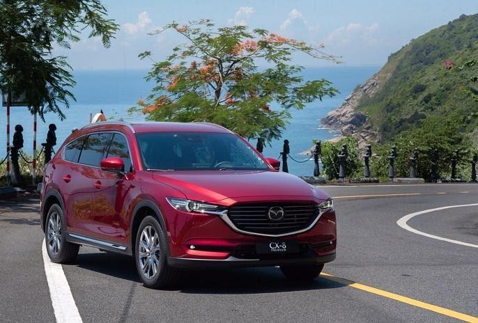 Mazda CX8 thuộc SUV 7 chỗ