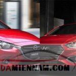So sánh mazda 2 và Hyundai accent – Cuộc chiến của dòng xe Sedan hạng B