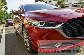 So sánh ngoại thất Mazda 3 và Mazda 6