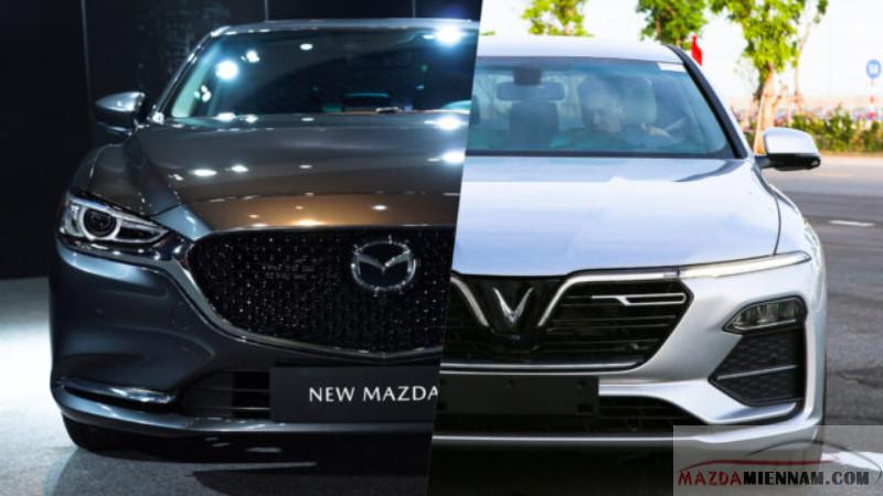 so sánh Mazda 6 và Vinfast Lux A2.0
