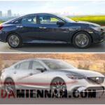 So sánh Mazda 6 và Civic 2020 - Xe nào tốt hơn?
