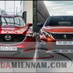 So sánh Mazda CX5 và Peugeot 3008: Nên mua xe nào?
