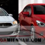 Thông tin so sánh Mazda 2 và Attrage - Chọn xe nào?