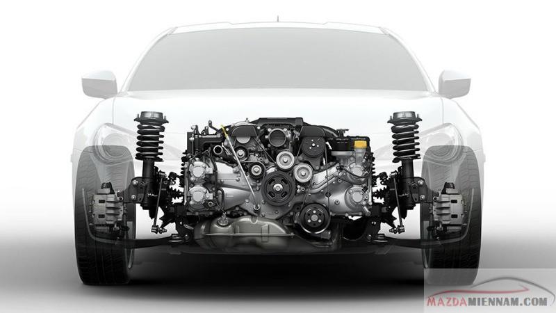 Động cơ Boxer của Subaru - dung tích 2.0 lít