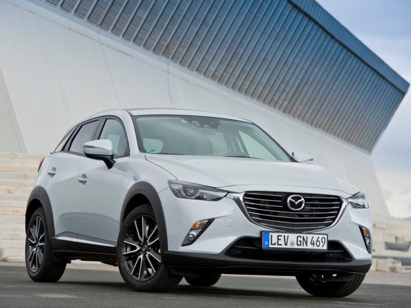 Mazda CX-3 sở hữu thiết kế hoàn toàn mới