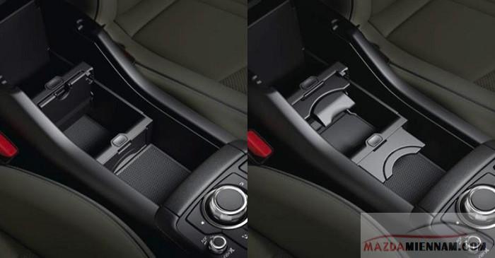 Hộc để đồ Mazda CX-3